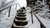 Tesané schody 12. 1. 2021