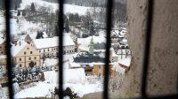 27. 1. 2021 - pohled ze zvonice