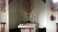 Interiér kaple - oltář 16. 11. 2020