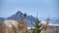 13. 3. 2014 - výhled na Tolštejn ze Stožce