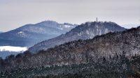 19. 1. 2021 - výhled z cesty pod Velkou Bukovou