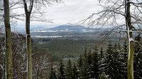 19. 1. 2021 - výhled směrem na Ralsko