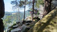10. 9. 2021 - pohled od jeskyně Matěje Krocínovského